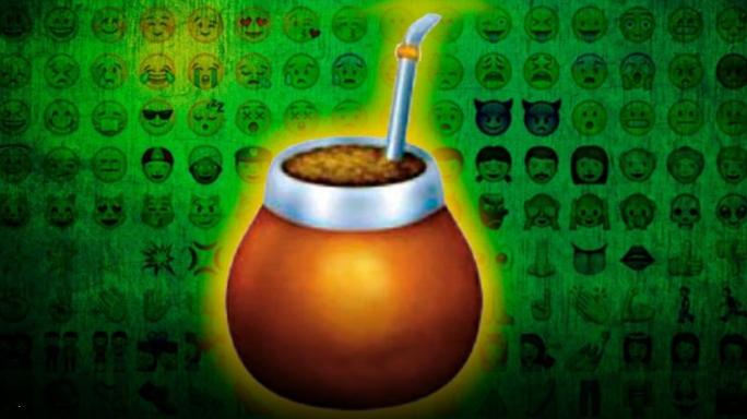 emoji del mate codigo